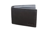 FIB Genuine Leather Bifold Mens Wallet