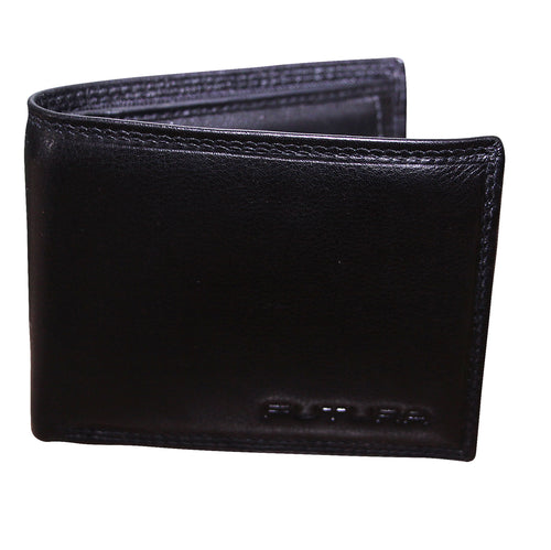 FUTURA Genuine Leather Bifold Mens Wallet