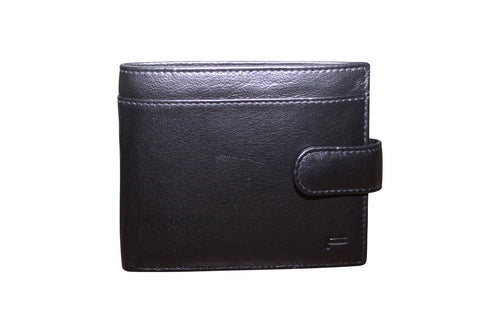 FUtURA Genuine Leather Mens Wallet with Clip