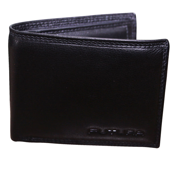 FUTURA Genuine Leather Mens Wallet