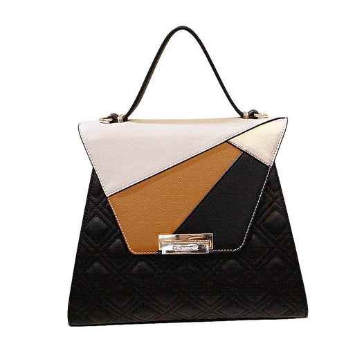 Giannotti Quilted Multi Layered Bag