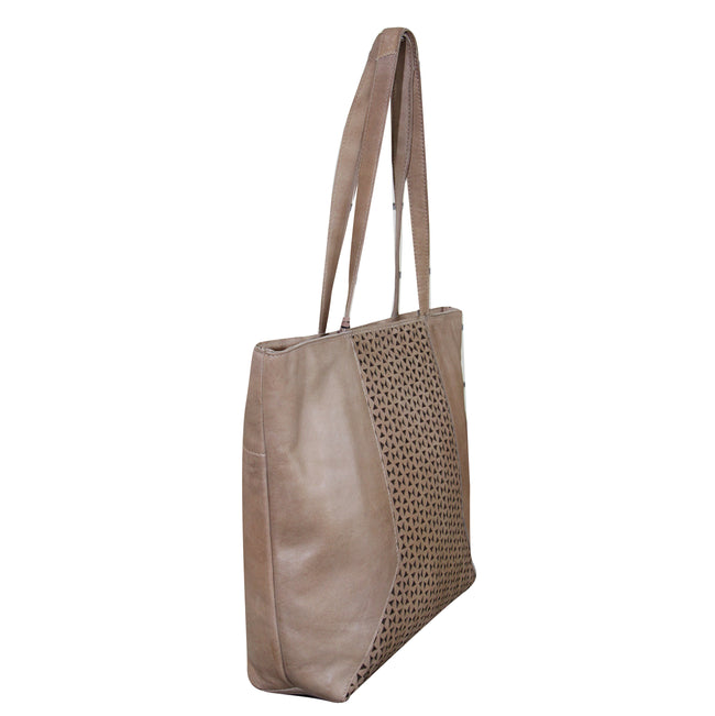 Giannotti Leather Cut Out Shopper