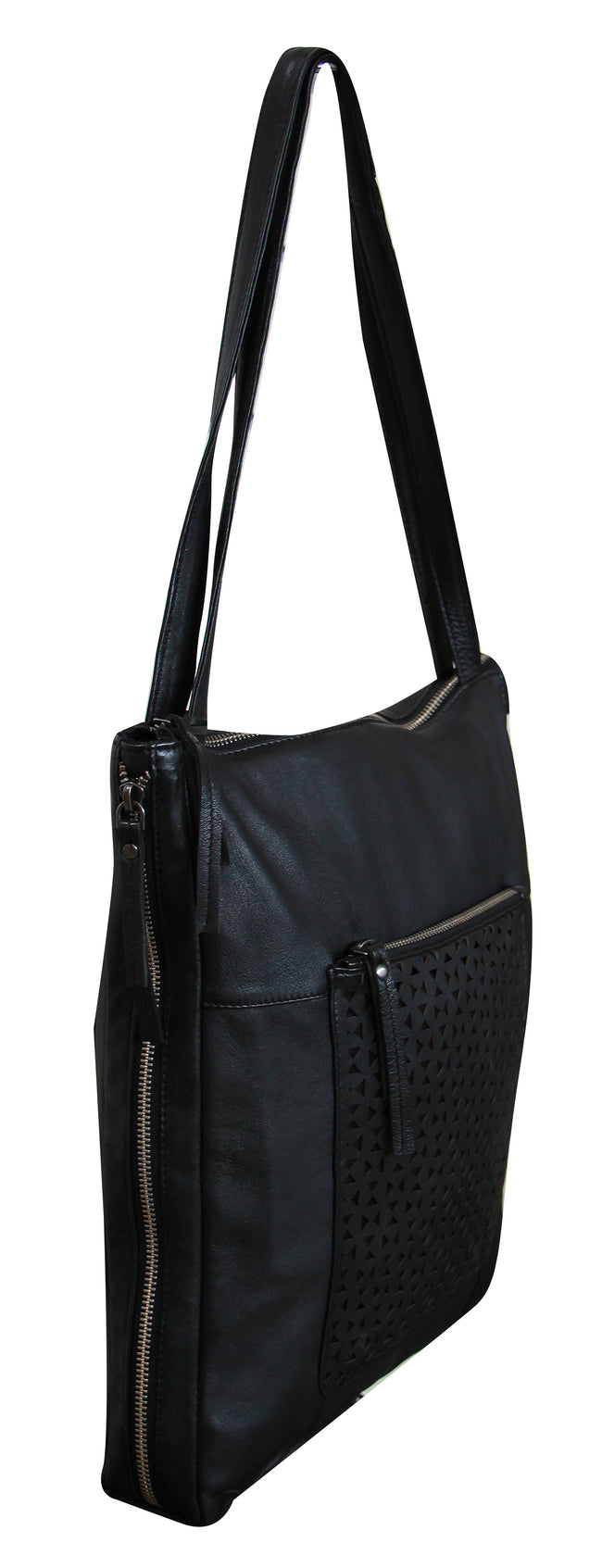 Giannotti Leather Tall Handbag