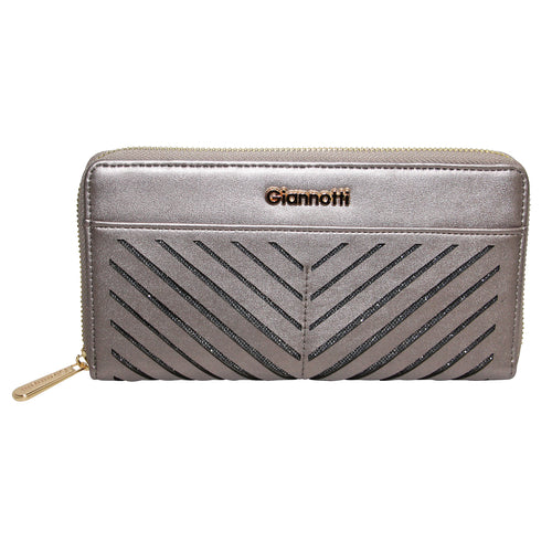 Giannotti Arrow Laser Cut Zip Around Purse