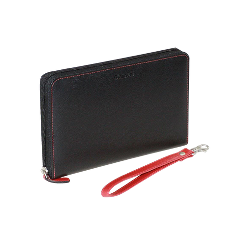 Giannotti Leather Passport Wallet