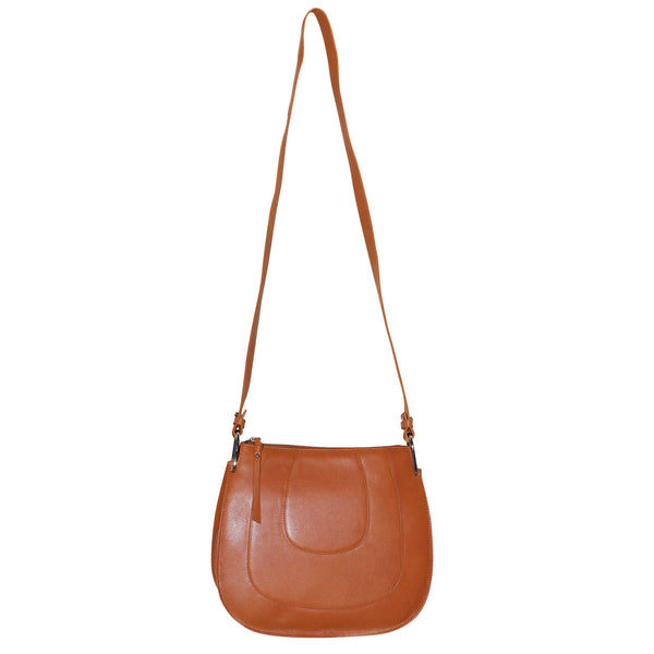 Futura Genuine Leather Horseshoe Bag