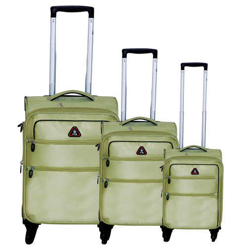 FIB Set Of 3 Trolley Case