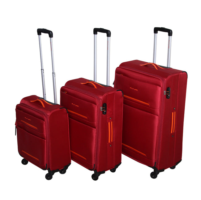 Futura Set of 3 Soft Luggage Cases