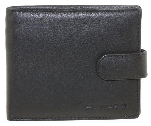 Futura Men's Leather Tri-Fold Wallet