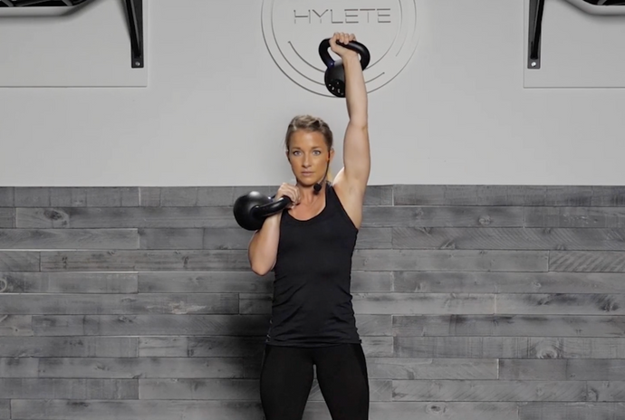 Movement Tip: Kettlebell (Push Press, Double, Single Arm)