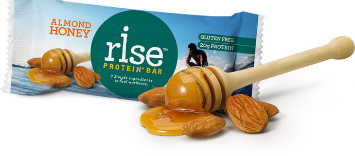 "Greatist Votes Almond Honey Rise Bar-""The Best Snack and Meal-Replacement Bar"