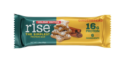 Gingerbread Rise Bars wrapper