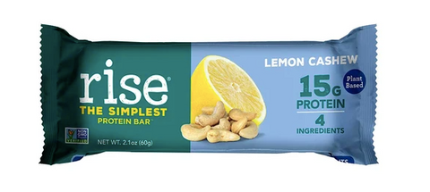 Plant-based protein bar, Lemon Cashew Rise Bar