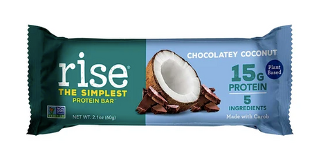 Plant-based protein bar, Chocolatey Coconut Rise Bar