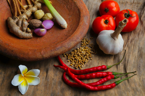 Variety of immunity boosting spices