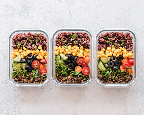 Meal Prep healthy food