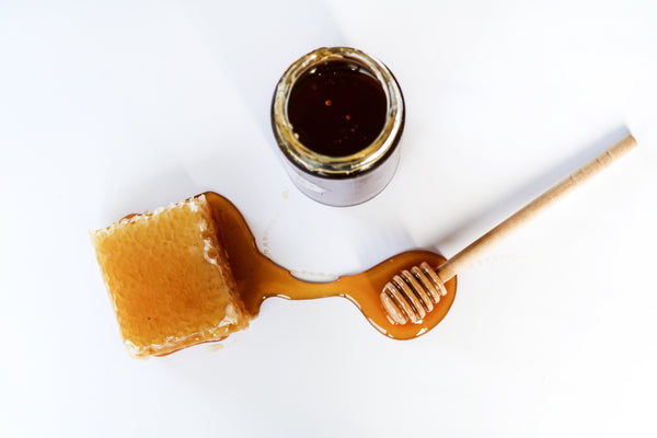 Raw honey, refined sugar substitute