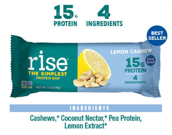 Lemon Cashew Protein Bars