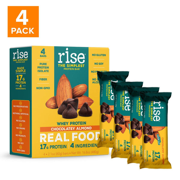 4 Pack Whey-Based Protein Bar Bundle Pack