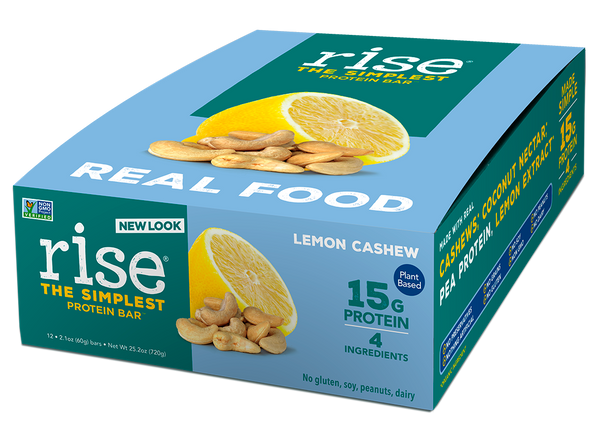 Lemon Cashew Protein Bars Box