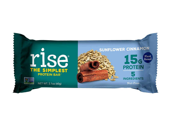Sunflower Cinnamon Protein Bars
