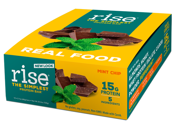 Mint Chip Protein Bar Box