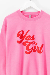 Yes Girl Sweatshirt - Sugar & Spice Apparel Boutique