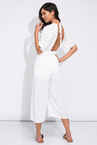 Take Me To Paradise Jumpsuit - Sugar & Spice Apparel Boutique