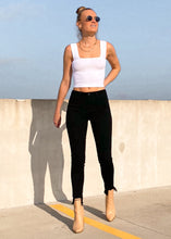 Back to Basics Cropped Tank in White - Sugar & Spice Apparel Boutique