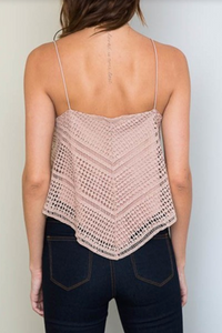 Weekend Warrior Lace Tank - FINAL SALE - Sugar & Spice Apparel Boutique