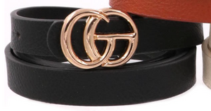 Faux Gucci Belt in Black - Sugar & Spice Apparel Boutique