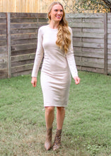 Long Story Short Adjustable Dress in Taupe - Sugar & Spice Apparel Boutique