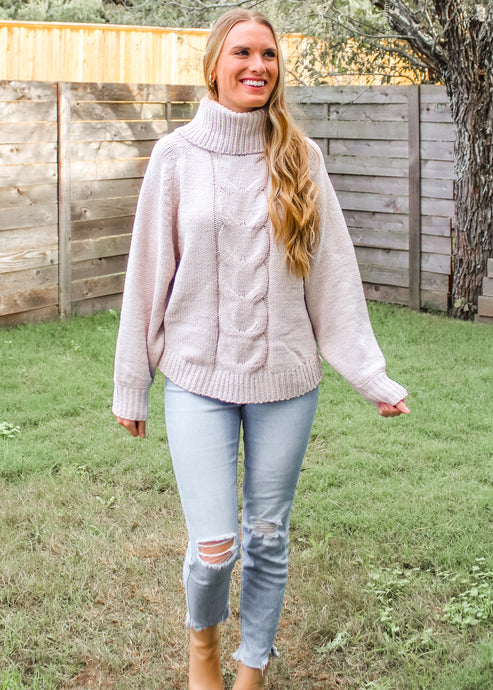 I Wish You Would Chenille Sweater in Oatmeal - Sugar & Spice Apparel Boutique