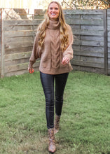 I Wish You Would Chenille Sweater in Dark Taupe - Sugar & Spice Apparel Boutique