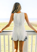 Secret Garden Embroidered Romper - Sugar & Spice Apparel Boutique