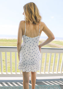 Santorini Skies Mini Dress - Sugar & Spice Apparel Boutique