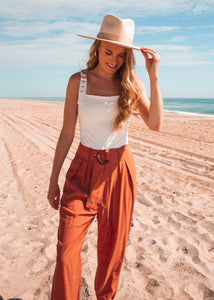 Desert Oasis Pocketed Joggers - Sugar & Spice Apparel Boutique