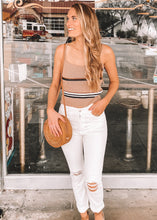 French Press Cropped Knit Tank - Sugar & Spice Apparel Boutique
