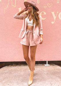 Girl Boss Blazer and Shorts Set - Sugar & Spice Apparel Boutique