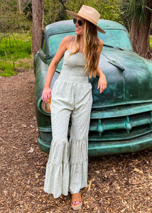 Dancing Queen Bell Bottom Jumpsuit - Sugar & Spice Apparel Boutique
