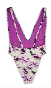 Orchid Spirit One Piece Swimsuit - FINAL SALE - Sugar & Spice Apparel Boutique