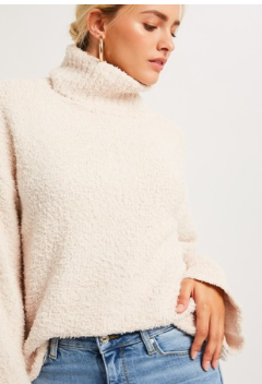 Snuggle Up Turtleneck Sweater - Sugar & Spice Apparel Boutique