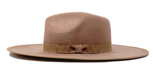 Butter Pecan Felt Hat - Sugar & Spice Apparel Boutique