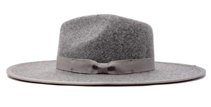 Grey Skies Felt Hat - Sugar & Spice Apparel Boutique