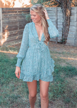 Like Me Better Ruffle Dress in Turquoise - Sugar & Spice Apparel Boutique
