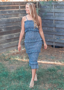 Just My Type Midi Dress - Sugar & Spice Apparel Boutique