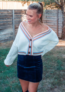 Color Outside the Lines Sweater - Sugar & Spice Apparel Boutique