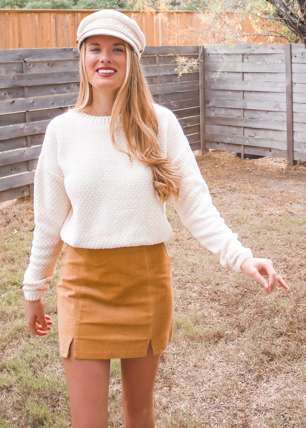 Be My Honey Corduroy Skirt - Sugar & Spice Apparel Boutique