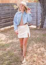 Too Cool Cropped Denim Jacket - Sugar & Spice Apparel Boutique