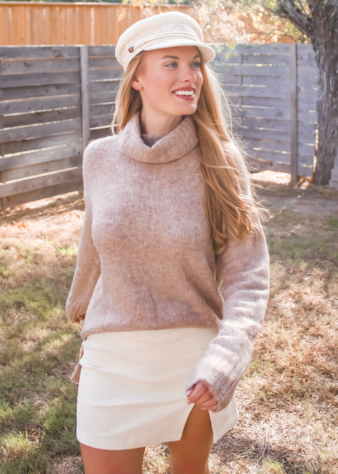 Better Half Turtleneck Sweater - Sugar & Spice Apparel Boutique
